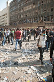 November 2011: New Clashes in Egypt — Stock Photo