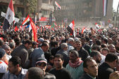 First Anniversary Of Egypt's Uprising — Stock Photo