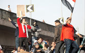 First Anniversary Of Egypt's Uprising — Stockfoto