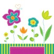 Spring mood - Stock Vector