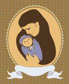 Motherhood — Stock Vector