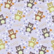Royalty-Free Stock Imagen vectorial: Seamless texture with bears
