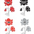 Royalty-Free Stock Vector Image: Poppy flowers