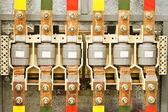 Dispositivo de segurança elétrica — Fotografia Stock