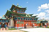 Exterior del edificio del monasterio budista — Foto de Stock
