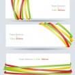 Ribbon and banner collection. Vector bookmarks. — Stock Vector #10431233
