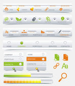 Vector de marco de diseño web — Vector de stock