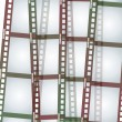 Stok Vektör: Film strip