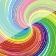 Colorful swirl background - Stock Vector