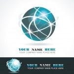 Sphere 3d design — Stock Vector