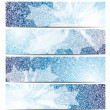 Set of abstract banners - Image vectorielle