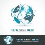 Sphere 3d design. Vector symbol. — Stock Vector