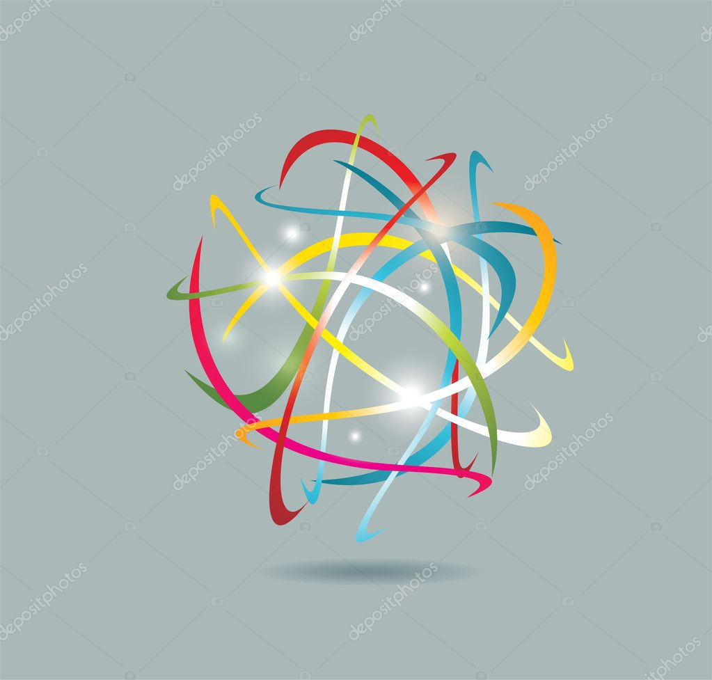 Business abstract icon — Stock Vector #9080567