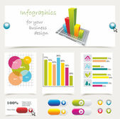 Info graphics collection — Stock Vector
