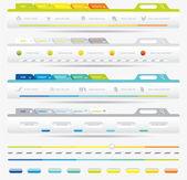 Web Design Frame Vector — Stock Vector