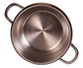 Steel pressure cooker — Stock Photo