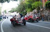 Brescia, itálie - květen, 17: mille miglia, — Stock fotografie