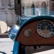 Antique car dashboard — Stock Photo