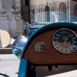 Stock Photo: Antique car dashboard