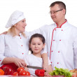 Family cooking — Stock Photo #10584147