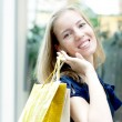 Beautiful woman with shopping bags — Stock Photo #7972800