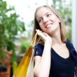 Beautiful woman with shopping bags — Stock Photo #9224404