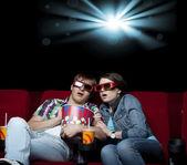 映画のカップル — ストック写真