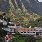 Tropical landscape of la gomera island — Stock Photo