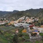 Landscape of la gomera island — Stock Photo #9424307
