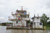 A Ship in the Amazon River — Stock Photo