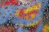 Superman water drop — Foto Stock