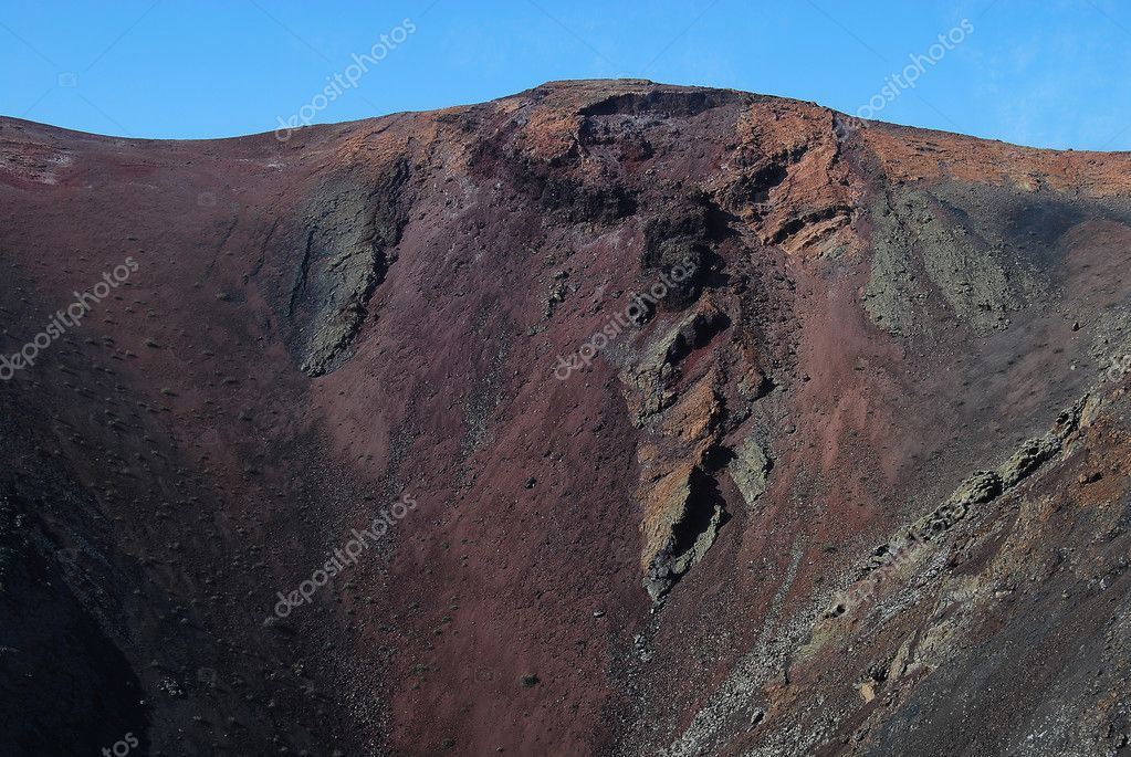 Slope of the volcano — Stock Photo #8506318