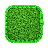 Zipped Grass — Stock Photo