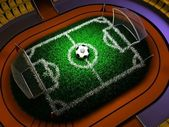 Konzept-fußball — Stockfoto