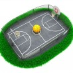 Basketball — Stock Photo #8225938