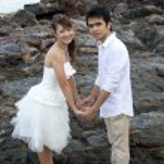 Pre wedding — Stock Photo