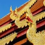 Thai north temple — Stock Photo