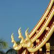 Thai north temple - Stock Photo