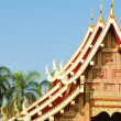 Stock Photo: Thai north temple
