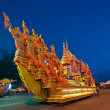 Thai south temple - Stock Photo