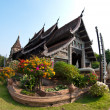 Thai north temple — 图库照片