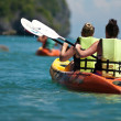 Kayaking - Stockfoto