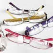 Set of eye glasses frames - Stock Photo