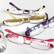 Set of eye glasses frames - Stock fotografie