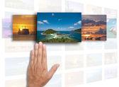 Umělecké dílo pro cestování — Stock fotografie