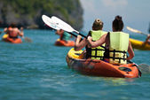 Kayaking — Stockfoto