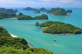 Parque nacional marinho de angthong — Fotografia Stock
