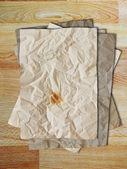 Stapel von vintage blankopapier — Stockfoto