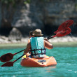 Ocean kayaking — Stock Photo #8153200
