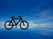 Bicycle abstract — Stock Photo
